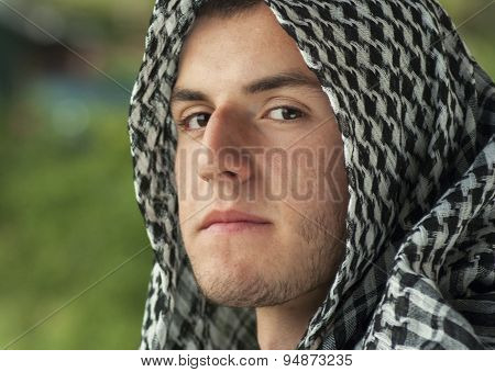 Middle Eastern Young Man