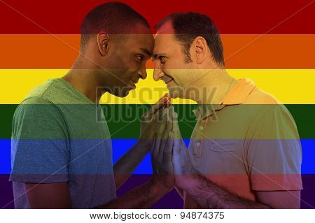 Same Sex Equality Iconic Image Style