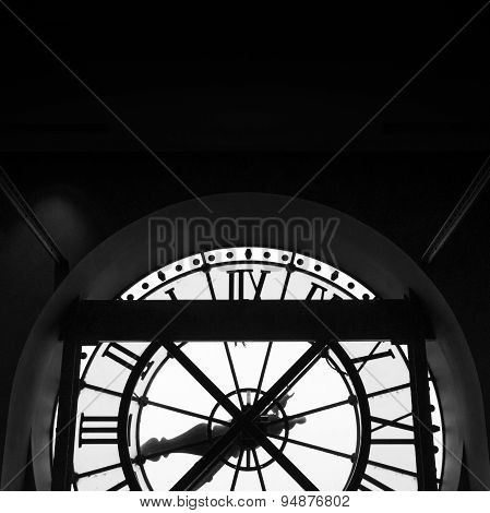 Orsay Museum (musee D'orsay) Clock In Paris