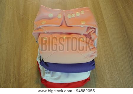 girlish cloth diapers