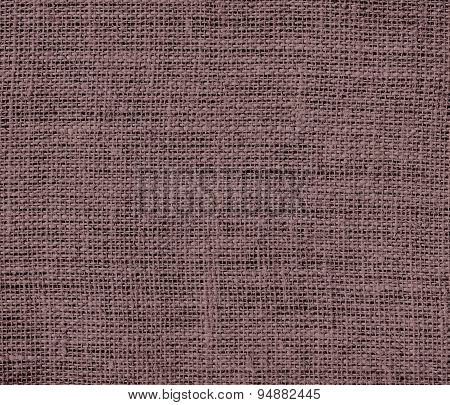 Deep taupe burlap texture background