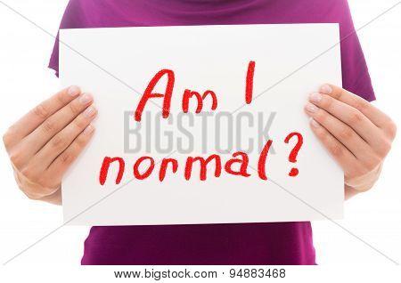 Am I Normal
