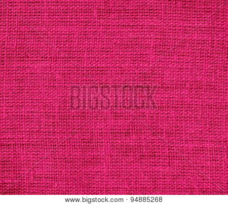 Dogwood rose burlap texture background