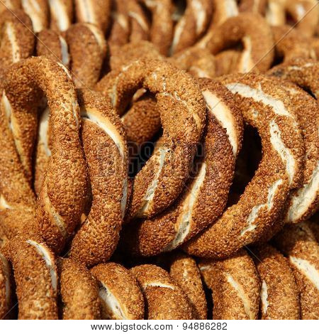 Turkish Bagel - Simit