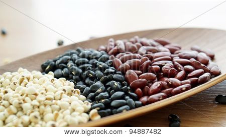 Beans Red Black And Job's Tear Multigrain Protien Food