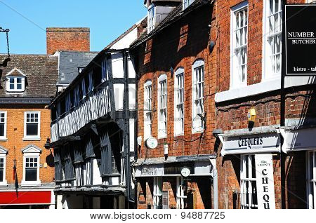 Butcher Row, Shrewsbury.