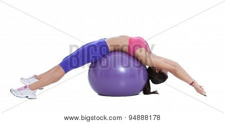 Spinal Stretch On The Swiss Ball