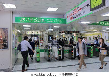Commuter Tokyo Japan