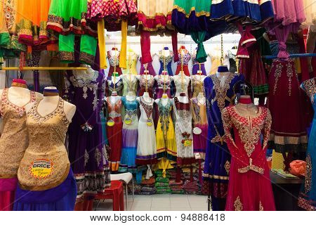 Traditional indian women's clothing