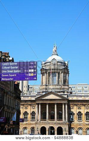 Liverpool City Hall.