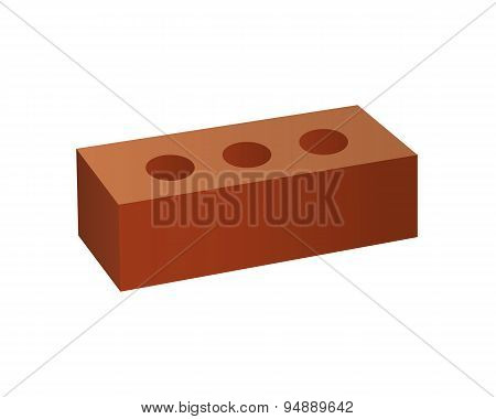 Just Brick icon. You can use it as logo template - add text, label, badge or create your own design.