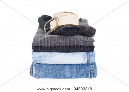 Men casual wear shirt and jean
