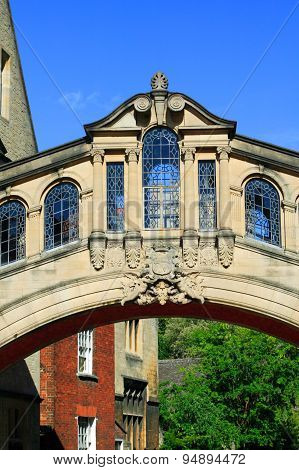 Bridge of Sighs Oxford University