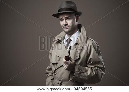 Funny Vintage Investigator
