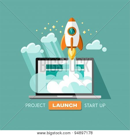 Project start up - launch.