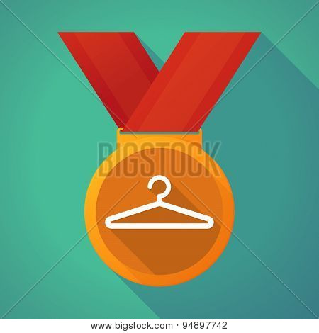 Long Shadow Medal With A Hanger