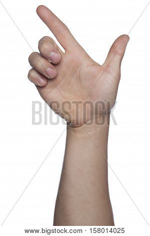 Symbol Of Aggression, Weapons Made Of Hand