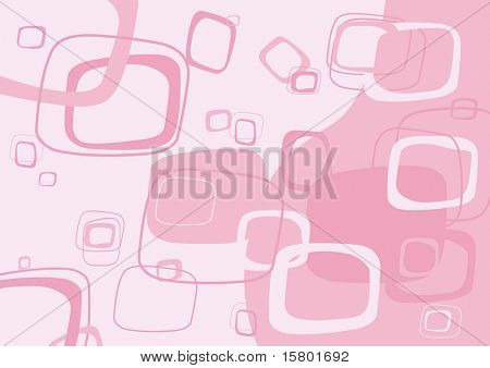 Pink rectangle background. Vector.