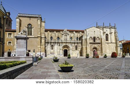 Collegiate Church of San Isidoro Leon Spain