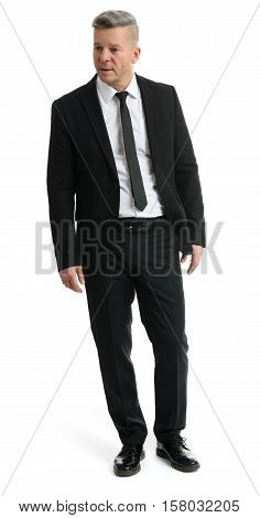 Senior Manager Wearing A Suit