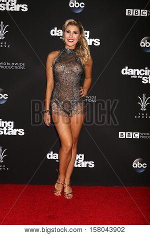 LOS ANGELES - NOV 22:  Emma Slater at the