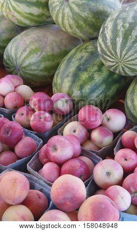 fruit, vegetable, produce small village farmer's market