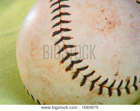 Softball  On Green