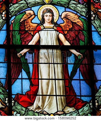 Angel - Stained Glass Window