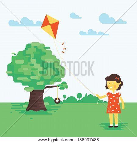 Tree-swing-flat