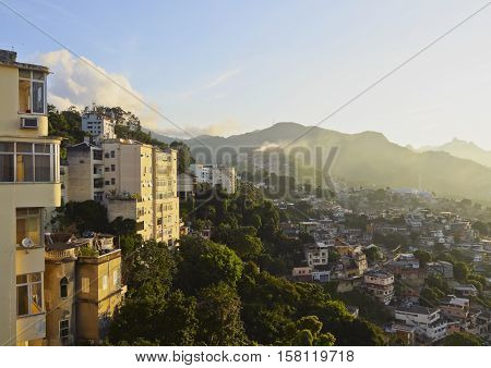 Santa Teresa Neighbourhood In Rio