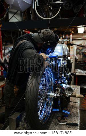 Repairing custom-bike