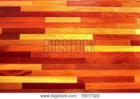 Texture background of exotic wooden floor