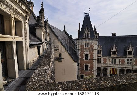 The Royal Chateau of Amboise Loire, France