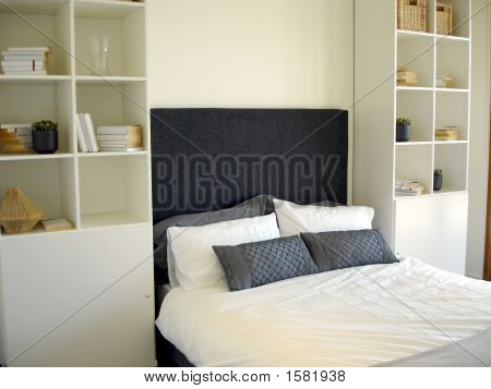 Bedroom With Storage