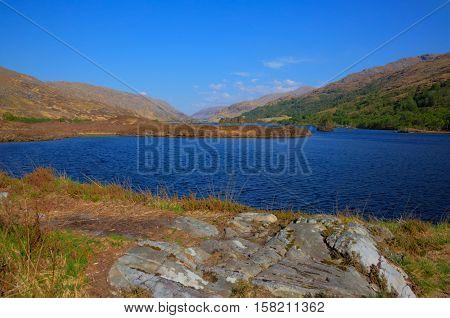 Loch Eilt Lochaber West Highlands of Scotland near Glenfinnan and Lochailort and west of Fort William