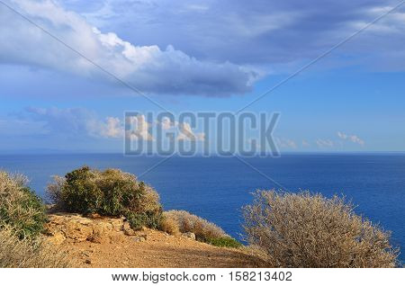 Aegian Sea, Cape Sounion, Attica, Greece