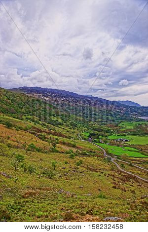 Beautiful Mountains Of Snowdonia National Park