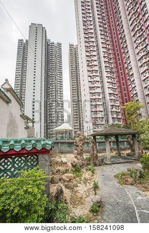 God Wish Garden In Wong Tai Sin Temple Kowloon Hk