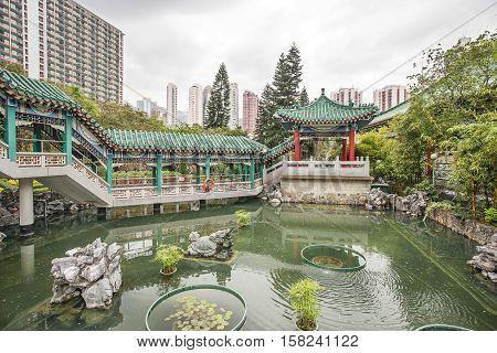 God Wish Garden Of Wong Tai Sin Temple Kowloon Hk