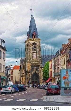 Saint Leu Church In Amiens Picardy France