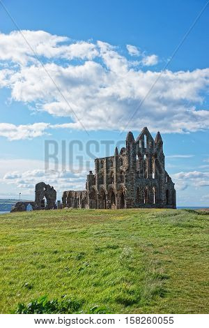 Whitby Abbey Of North Yorkshire In The Uk