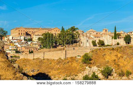 Seminario Conciliar de San Ildefonso and San Lucas Church in Toledo - Spain