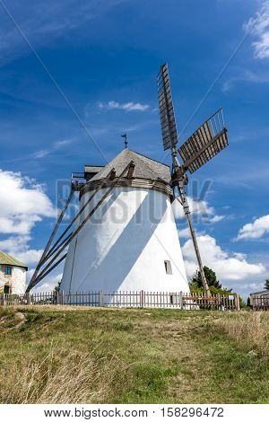 windmill in Retz, Lower Austria, Austria