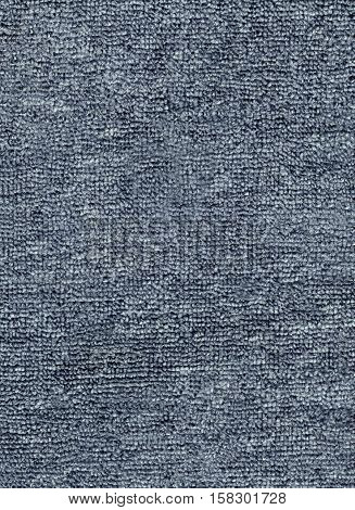 Background rough texture of wool rug gray color