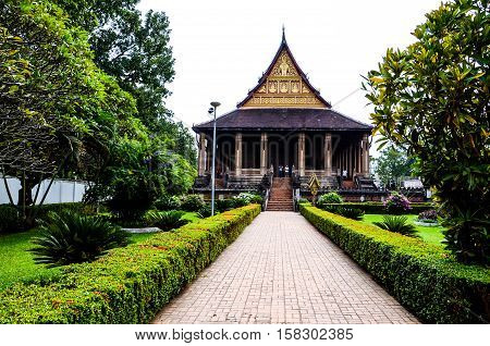 Haw Phra Kaew, also written as Ho Prakeo, Hor Pha Keo and other similar spellings, is a former temple in Vientiane, Laos.