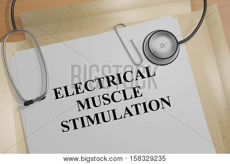 Electrical Muscle Stimulation - Medical Concept