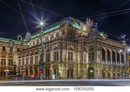 Vienna State Opera is an opera house - and opera company - with a history dating back to the mid-19th century. Evening