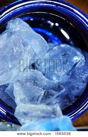 Ice In The Blue Jar