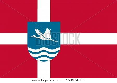 Flag of Vesthimmerland is a municipality in Region Nordjylland in Denmark