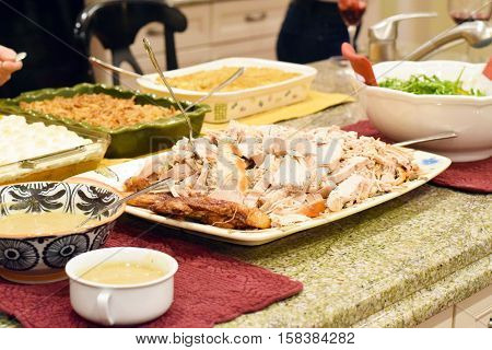 Platter Of Turkey